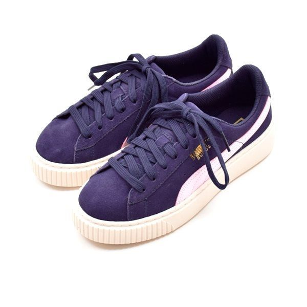 PUMA Suede Platform sneaker navy
