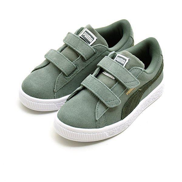 PUMA Suede Classic sneaker m. velcro grøn