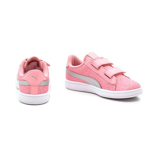 PUMA Smash Inf rosa glitter