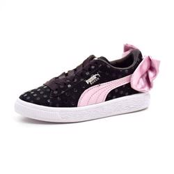 PUMA Suede Bow rosa/sort