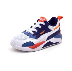 PUMA X-Ray Square sneaker orange/blå/hvid