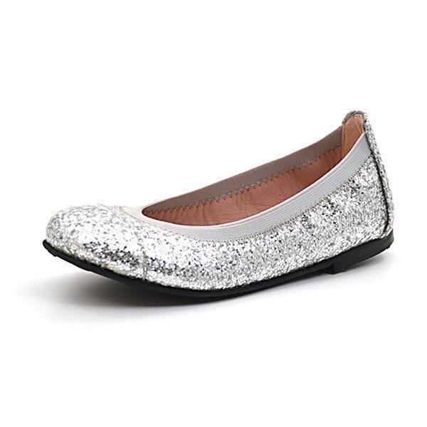 Pretty Ballerina sølv glimmer