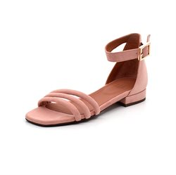 Billi Bi sandal m. hælkappe dark clay/rose