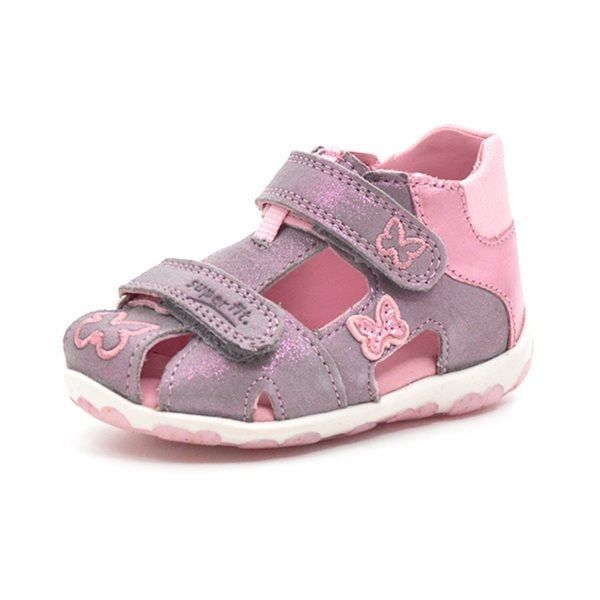 561ede8275f0 SuperFit Fanni sandal lilla lyserød