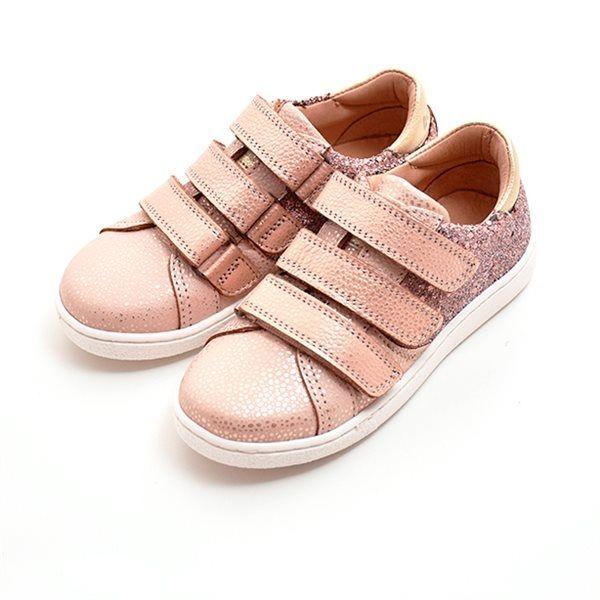 8db4b62f084 Bisgaard velcrosko glitter rosa