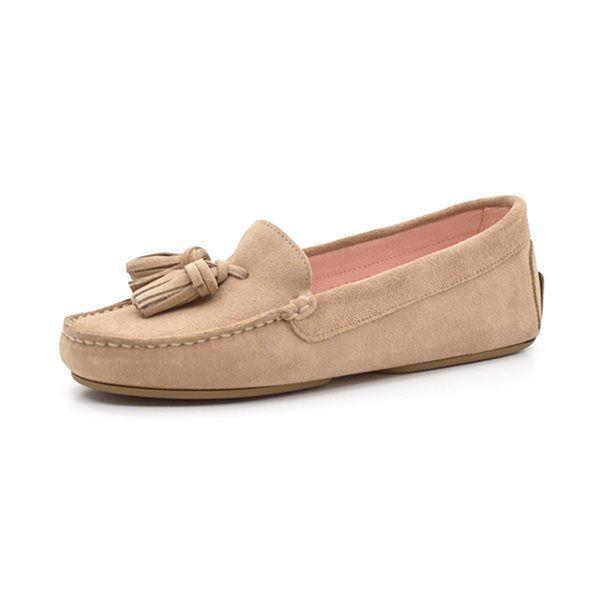 Pretty Ballerinas Josephine loafer moccasin sand