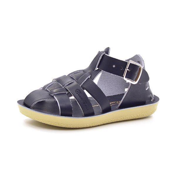 Salt Water Shark sandal navy