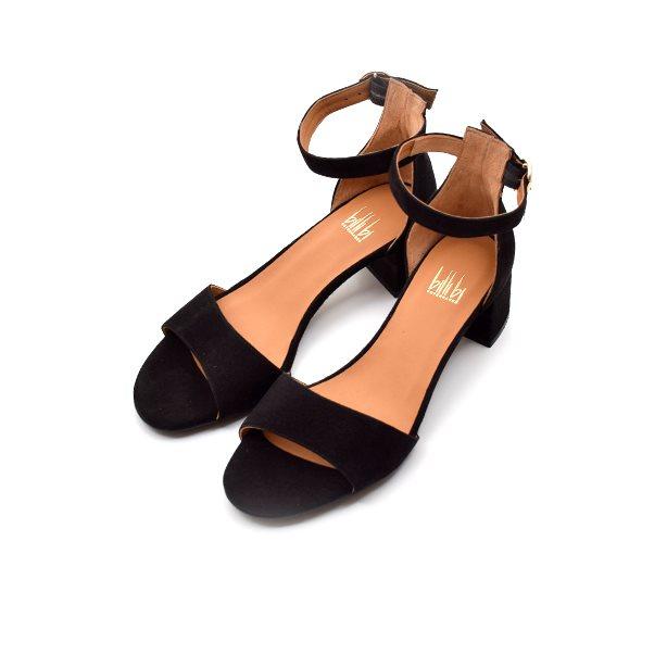 Billi Bi sandal m. blokhæl sort