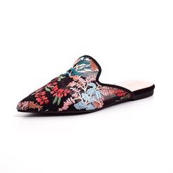 Pretty Ballerinas slip-in loafer m. broderi
