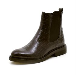 Billi Bi chelsea boot croco olive green