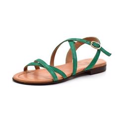 Billi Bi remsandal ruskind amazon green