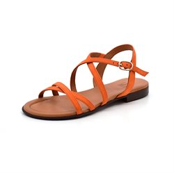 Billi Bi remsandal ruskind orange