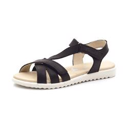 SuperFit Maya sandal m. skrå rem sort