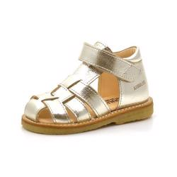 Angulus begyndersandal champagne (smal)