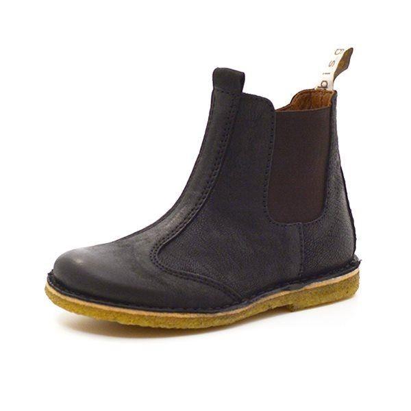 sort chelsea støvle