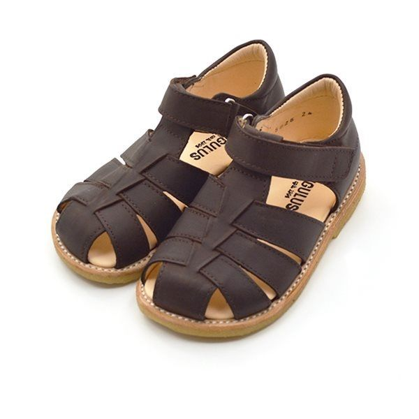 d600f135008b Angulus klassisk sandal brun