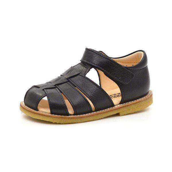 Angulus klassisk sandal sort