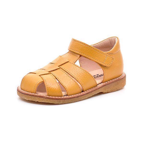 Angulus klassisk sandal gul