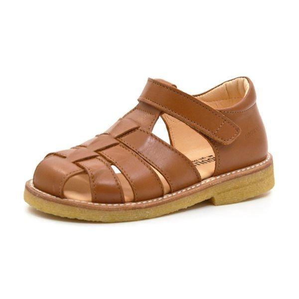 Angulus klassisk sandal cognac (SMAL)