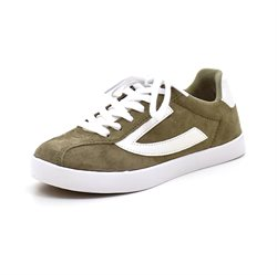 Viking Retro Trim sneaker oliven