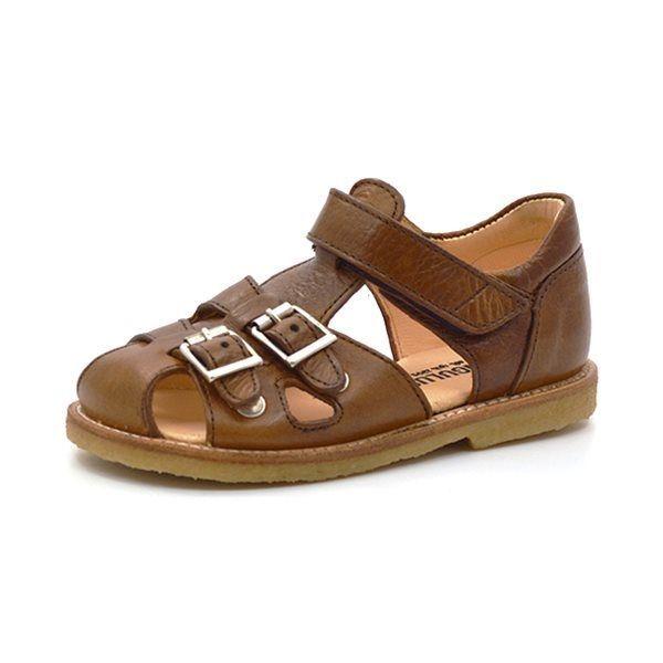 dfa228997ac Angulus sandal m. spænder medium brown