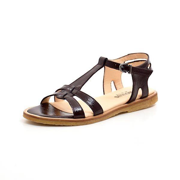 f2f6d34c2a4d Angulus sandal mørk bordeaux lak