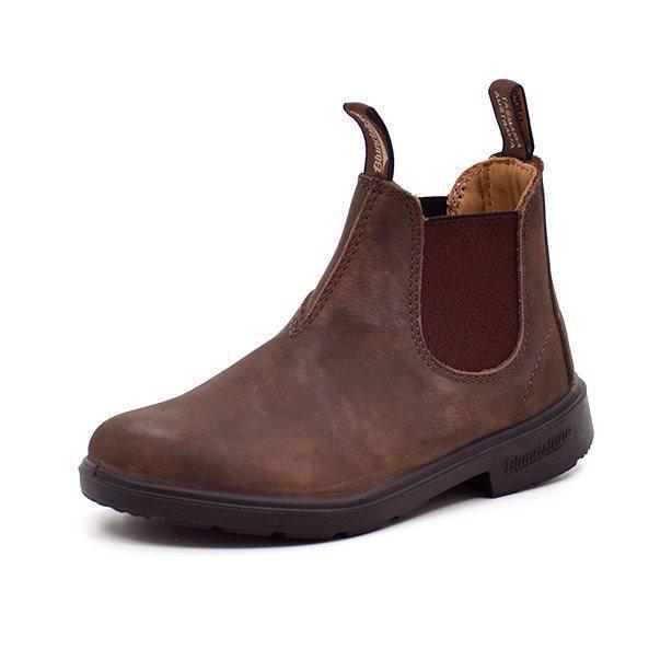 Blundstone chelsea støvle rustik brun - spirekollektion