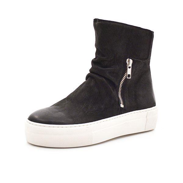 6bcaca777a2d Billi Bi Sport støvlet m. lynlås sort
