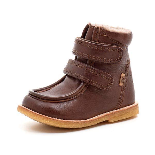 42c79619dad Bisgaard ECO TEX-støvle velcro brun