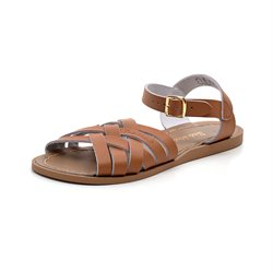 Salt-Water Retro sandal cognac