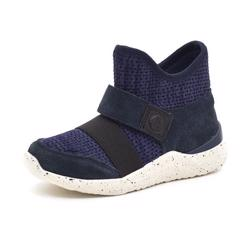 Woden Wonder slip on sneaker navy