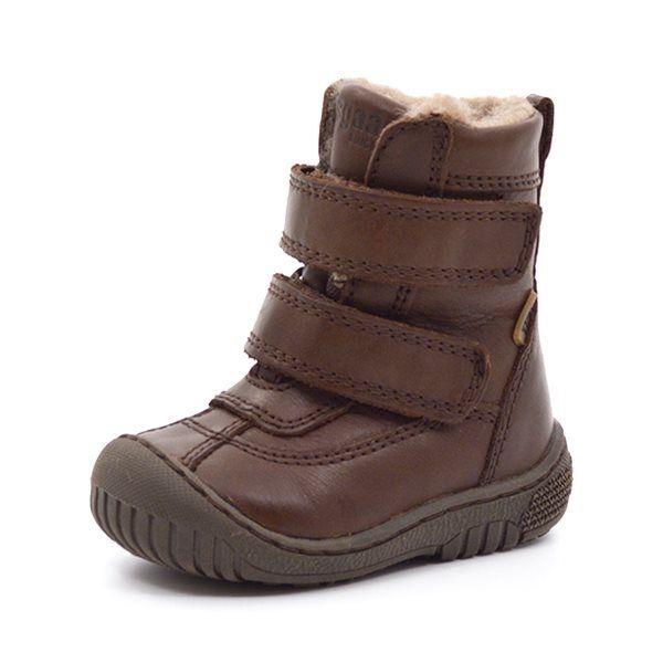 9353a9687b6 Bisgaard sporty TEX-støvle m. velcro brun