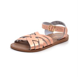 Salt-Water Retro sandal gylden/rosa