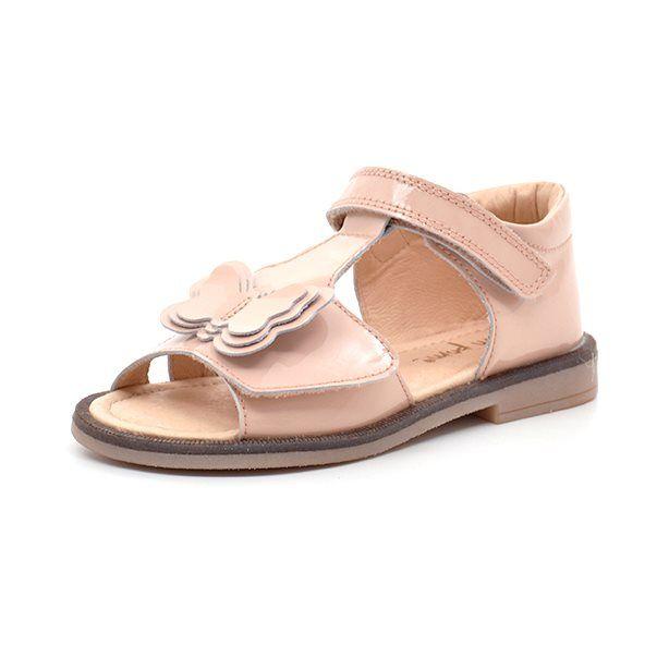 f24b62fe49a Pom Pom sandal m. sommerfugl nude lak