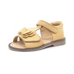 95d0e4e00a4d Pom Pom sandal m. sommerfugl lysegul