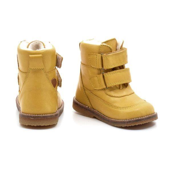 7dfb5385a09 Pom Pom TEX støvle gul