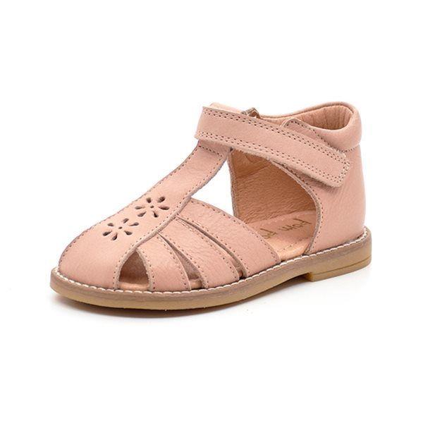 2b5019c59ff7 Pom Pom mini flowers sandal rosa