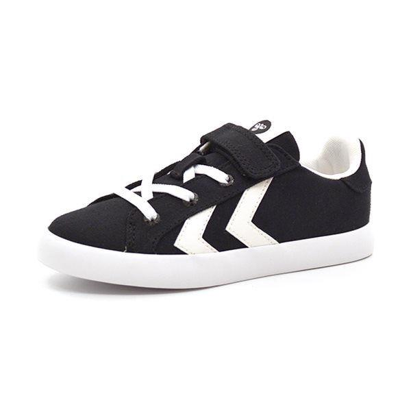 Hummel Deuce Court JR Canvas velcro Low sort