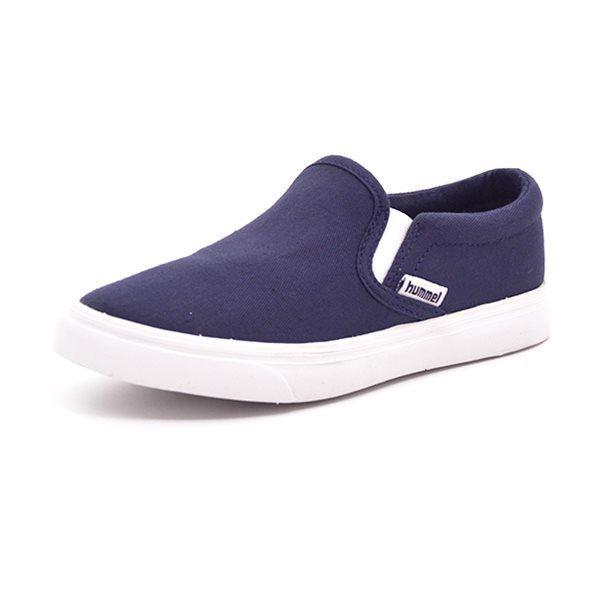 Hummel Slip On Canvas JR navy
