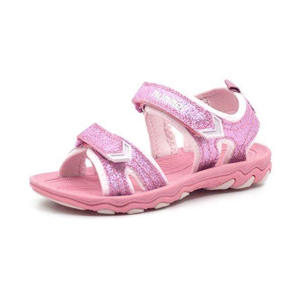 8fc1c6bb11f9 Hummel Sandal Glitter JR rosa