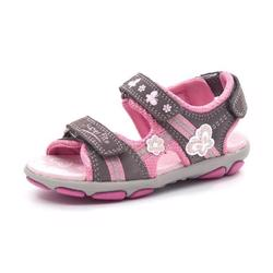 SuperFit Nelly sporty pigesandal grå/pink
