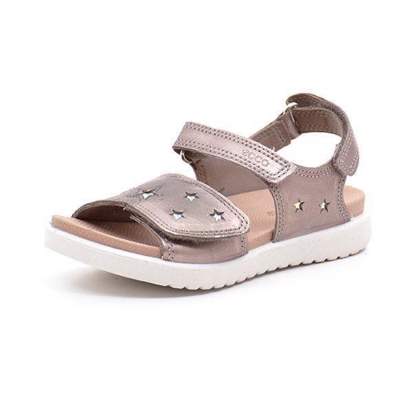 00bf5080304f ECCO Flora sandal m. stjerner metallic