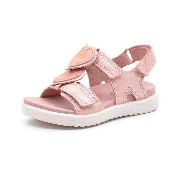d01062c1d7f ECCO sandal m. hjerter rosa