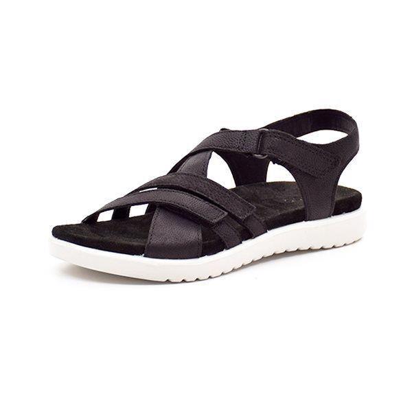 6eb460b38a4 ECCO Flora sandal sort