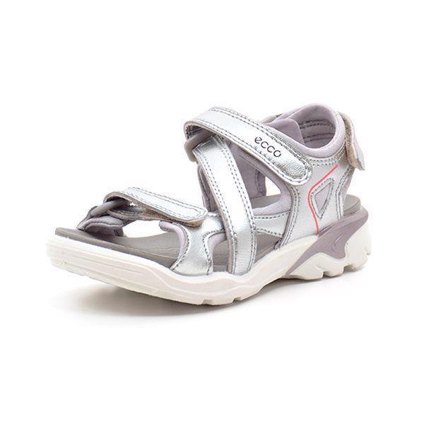 ECCO Biom Raft sandal sølv