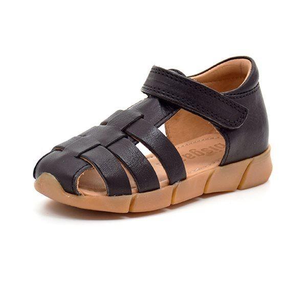 145aefcbd6e Bisgaard lukket sandal sort