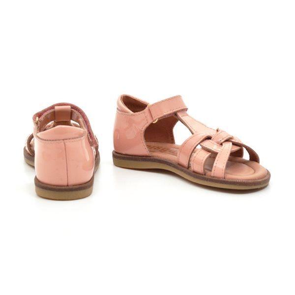 c8911ed1bfd Bisgaard sandal fersken lak
