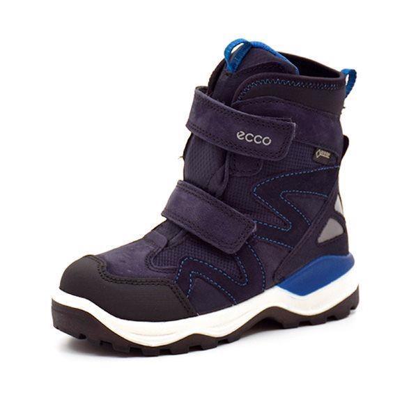 883521b93ee ECCO Snow Mountain vinterstøvle m.velcro sort