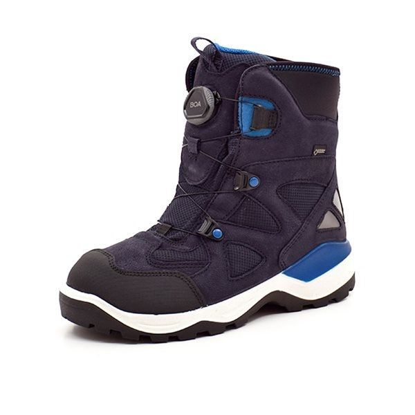 c4681ddea51b ECCO Snow Mountain vinterstøvle navy. VARENUMMER  710233.51237.Black.Night. Sky