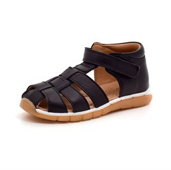 Bisgaard Billie lukket sporty sandal sort